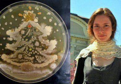 Българка е първата, която рисува с микроорганизми и се прочу в целия свят (СНИМКИ)